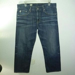 AG Jeans 32 Ex-boyfriend Crop 10 years wash